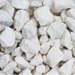 """1 1/2"""" White Marble Stone"""
