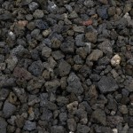 "3/4"" Black Lava Rock"