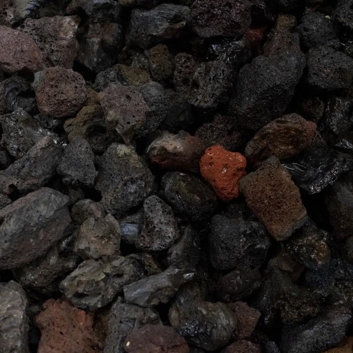 "1-2"" Black Lava Rock"