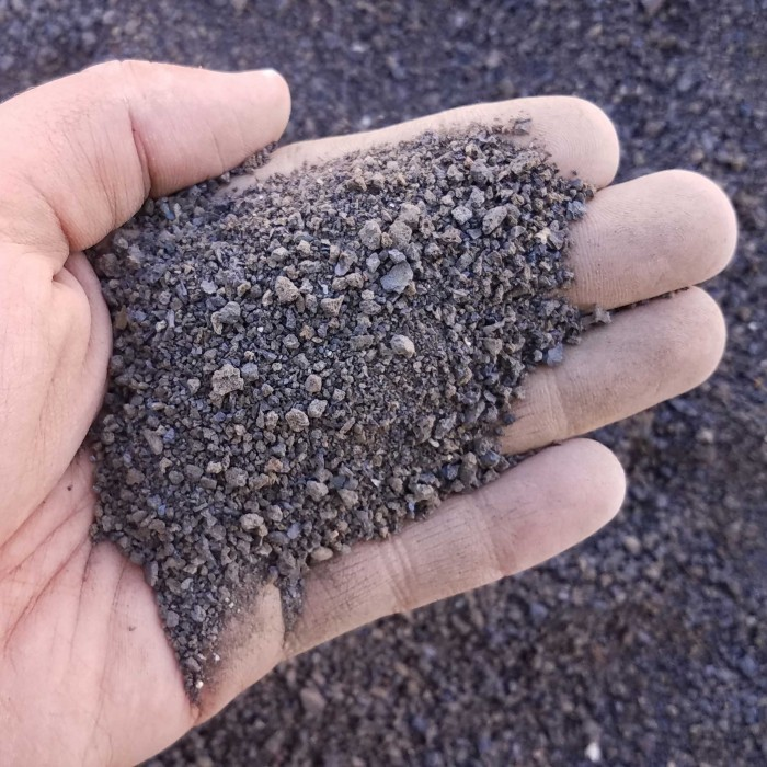 Black Volcanic Sand