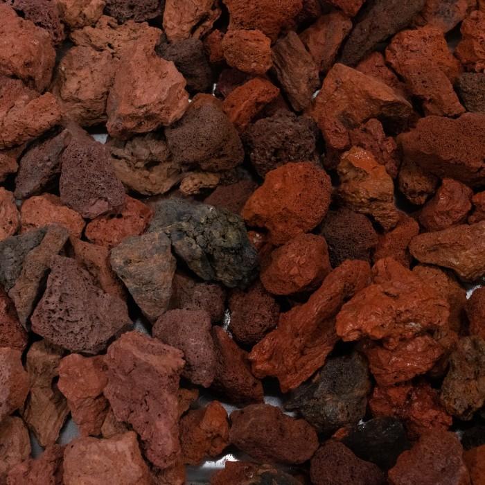 "1-3"" Red Lava Rock"