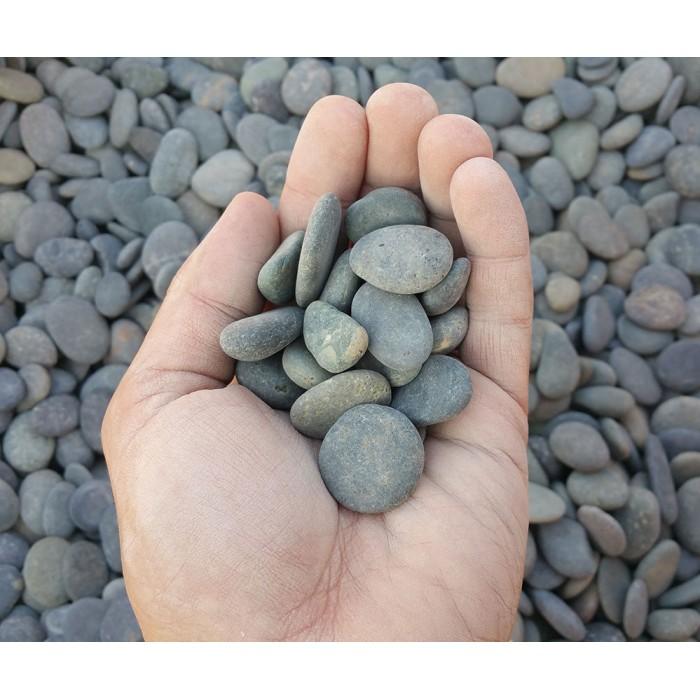 "3/8"" - 5/8"" Mexican Beach Pebbles"