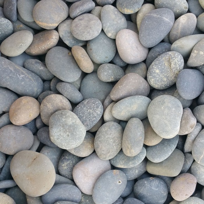 "1/2"" - 1"" Mexican Beach Pebbles"