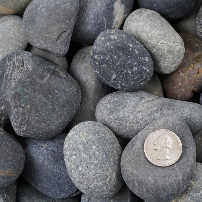 "1-2"" Mexican Beach Pebbles"