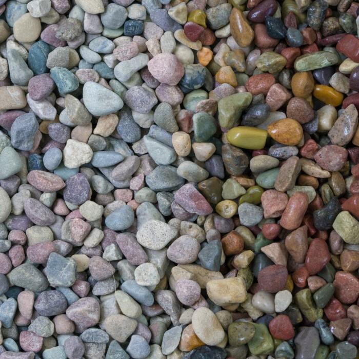 "1/4"" Rainbow Pebbles"